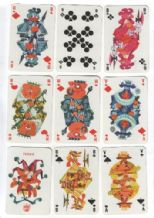 Collectible Non-standard playing cards. Boerenbond Veevoeders